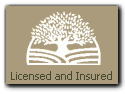 Arbor Tree is Licensed and Insured
